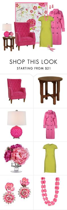 """""""Untitled #1458"""" by milliemarie ❤ liked on Polyvore featuring Sasson Home, DutchCrafters, Lazy Susan, Alessandra Rich, Diane James, Antonio Berardi, Shourouk, Kim Rogers and Dolce&Gabbana"""
