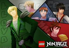 ninjago artwork | Ninjago: Masters of Spinjitsu by witch-girl-pilar on deviantART