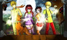 Scooby Doo Gang by beezasaurus.deviantart.com on @deviantART