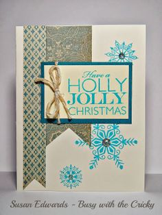 Holly Jolly Christmas Card