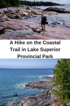 A Challenging Hike on the Lake Superior Coastal Trail - Hike Bike Travel Hiking Spots, Hiking Trails, Sault Ste Marie Ontario, Sault Ste Marie Michigan, Ontario Parks, Ontario Travel, Canadian Travel, Visit Canada, Lake Superior