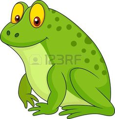 Illustration about Illustration of cute green frog cartoon. Illustration of leapfrog, nature, croaking - 30568398 Frosch Illustration, Frog Crafts, Gourds Birdhouse, Frog Art, Cartoon Painting, Green Frog, Cute Frogs, Free Illustrations, Clipart