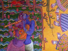 Купить Картины художника Интернет Сунита Dinda - Любовь - CE100697