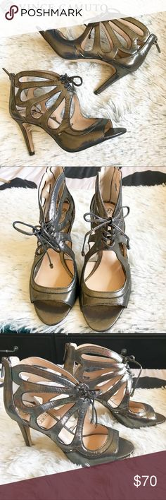 New Vince Camuto Silver Heels Size 6 New Vince Camuto Silver Heels Size 6. NO BOX Vince Camuto Shoes Heels