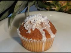 Muffins backen Rezept Ananas-Kokos-Muffins einfach Kochen Kuchenrezepte