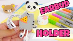 Hi,welcome to my channel Arte y salud en casa. In this video you will learn how to make an earbud holder(earphone holder EASY AND KAWAII. I chose my favorite...