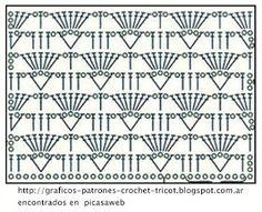 PATRONES=GANCHILLO = CROCHET = GRAFICOS =TRICOT = DOS AGUJAS: REMERITA CONVINADA A CROCHET CON SU GRAFICO = GANCHILLO CON SU PATRON, Granny Square Häkelanleitung, Granny Square Crochet Pattern, Crochet Diagram, Crochet Squares, Crochet Motif, Crochet Designs, Crochet Lace, Crochet Patterns, Crochet Stitches Chart