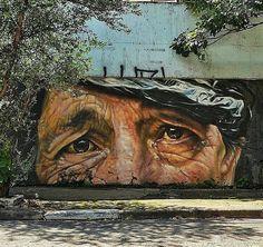 New Street Art by Pas Schaefer, São Paulo, Brazil