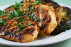 Kalyn's Kitchen®: Grilled Fusion Chicken. I am loving the grilled recipes on this site! Another one to add to meal prep planning! :)