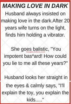Husband making Love in Dark Funny Quotes About Life, Life Quotes, Funny Sayings, Qoutes, Relationship Jokes, Relationships, You Lied To Me, Dark Jokes, Making Love