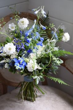 rustic and wild bouquet