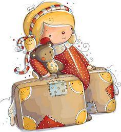 dibujos de niñas con sus muñecos - Imagenes y dibujos para imprimirTodo en imagenes y dibujos