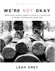We're Not Okay by Leah Grey is a powerhouse read - short but potent. I had a couple of 'Uh-oh, I'm doing that moments' as I read it.