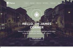 PlanusWP - One Page Wordpress Theme. WordPress Portfolio Themes. $29.00