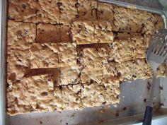 Sourdough discard cookie bars