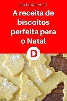 Biscoitos de natal | A receita de biscoitos perfeita para o Natal | A única receita que eu uso