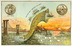 Through the Horn, 1915 Panama-Pacific Exposition, San Francisco