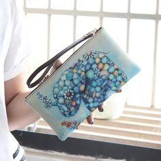 2017 Fashion Women Lady Leather Wallet Purse Lady Long Card Phone Bag Coin Purse sacoche homme #PYXTJ