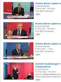Captured with Lightshot Gordon Brown, Bbc News