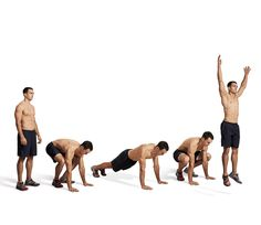 15 Best Bodyweight Exercises for Men!! Equipment-free ways to burn fat and build muscle. #NCCPT