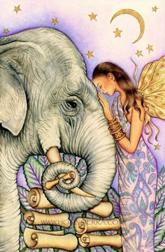 Honoring the unique & beautiful Presence of God & Goddess that resides in the depths of each Soul brings Heaven to Earth ♥♥ Have a blessed & beautiful day everyone... Love, Carolyn & Andy ♥♥ Beautiful Artwork by Holly Sierra