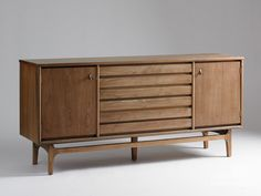 the sideboard I inherited from my Grandmother---Stanley Furniture vintage American Forum buffet