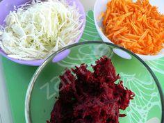 Παντζαροσαλάτα με Γιαούρτι και Καρύδια Beetroot, Greek Yogurt, Cabbage, Salad, Vegetables, Food, Essen, Cabbages, Salads