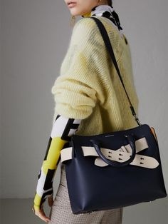 f0acad78db086 The Small Belt Bag - A belted tote by  Burberrry influenced by our iconic  trench