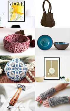 Christmas Is Here! (Vol.07) by Yolanda Tzina on Etsy--Pinned with TreasuryPin.com Saddle Bags, Bean Bag Chair, Christmas, Handmade, Crafts, Etsy, Home Decor, Xmas, Hand Made