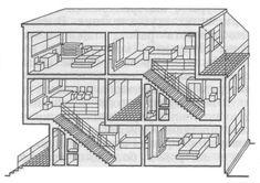 Товарищеский конкурс на проект жилища нового типа для трудящихся, 1927 г.
