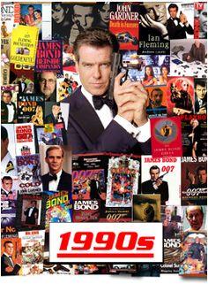 Six Decades of James Bond - The 1990s PIERCE BROSNAN