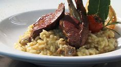Risotto Recipes, Grouse, Tasty Dishes, Cooking, Simple, Ethnic Recipes, Food, Kitchen, Essen