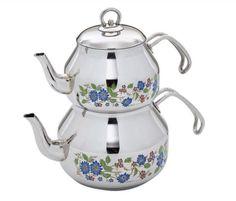 Pınar Orta Dekorlu Çaydanlık ( 2,2 lt – 1,2 lt) - Güven Evim