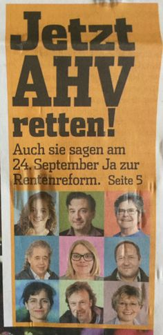 #av2020 #altersvorsorge2020 #september #work #gewerschaft September, Politics