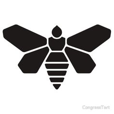 Methylamine Bee Decal (Black)
