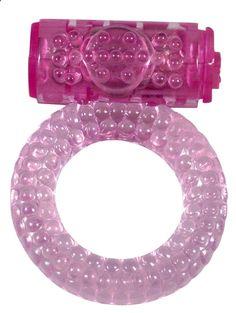 ANILLO VIBRADOR ROSA BUBBLE DE ALIVE. Forma característica y elasticidad suficiente para adaptarse a cualquier tamaño de pene. Permite una intensa estimulación del clítoris de la mujer gracias a su vibración, prolongando a la vez la erección y retardando la eyaculación del hombre. Silicona muy resistente, flexible y de tacto muy agradable. Resistente al agua. Compatible con el uso de preservativos. #anillo #vibrador #Alive
