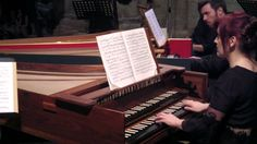 Johann Sebastian Bach, Concerto for three harpsichords in C Major BWV 10...