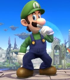 Luigi Announced To Returning To Super Smash Bros. Wii U and 3DS