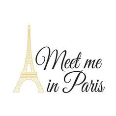 Brewster WPQ1636 Meet Me In Paris Wall Quote Meet Me In Paris Home ($18) ❤ liked on Polyvore featuring home, home decor, words, paris, quotes, wallpaper, wall decals, text, saying and phrase