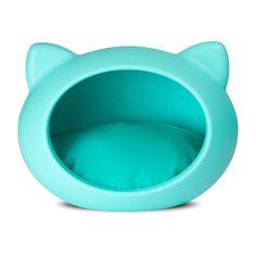 Casinha Pet Cat Cave Azul  | iBacana