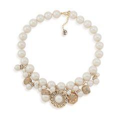 40th Anniversary Viva La Pearl Charm Necklace