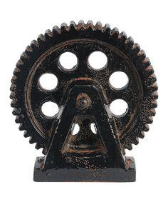 Loving this Gear Wheel Décor on #zulily! #zulilyfinds