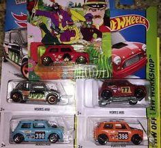 Hot Wheels Morris Mini Lot of 5 Zamac The Beatles | eBay