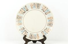 Vintage Atomic Taylorstone Cathay Dinner Plate by tawneyvintage, $18.00