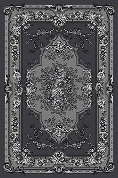 Starting at $25 Free Shipping Area Rugs| Discount Rugs| Carpet|Traditional Rugs| Modern Rugs – Bargain Area Rugs 1057 Gray