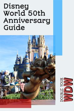 Disney World 50th anniversary runs for 18 months starting in October 2021. Here are all of the things you'll find around the Walt Disney World parks to celebrate the 50th anniversary, plus reviews and tips to get the most out of your time. Disney | Disney World | Walt Disney World | Disney tips and tricks | Disney planning | Disney 50th celebration | Magic Kingdom