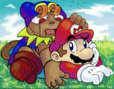 Mario and Geno Kirby Pokemon, Super Mario Rpg, Mario Bros, Bowser, Fictional Characters, Fantasy Characters