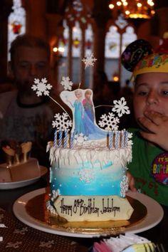 """Frozen"" cake"