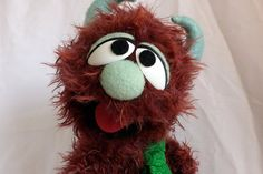 Monster Puppet OOAK - Charlie - Handmade Muppet™ Style Rod Puppet