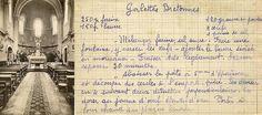 Galettes Bretonnes - Cuisines Retrouvées - Le patrimoine des fiches recettes de soeur Marie M. Old Recipes, Flan, Food And Drink, Marie, Restaurants, French, Cookies, Recipes, Ancient Recipes